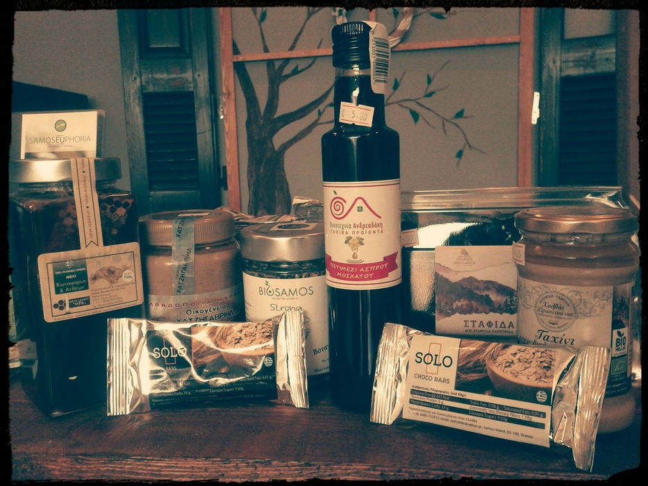Samos Euphoria Local Products
