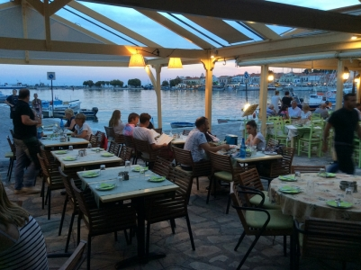 Elia Restaurant in Samos